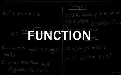 Functions | A Math Ordinary Level