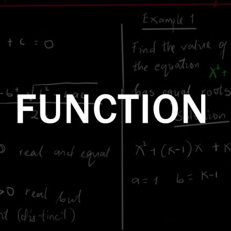 Ordinary Level Math | Functions