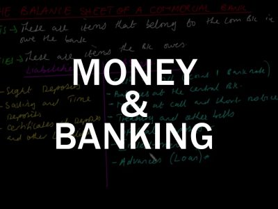 Advanced Level Money and Banking