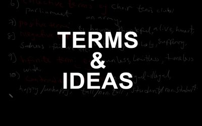 Terms and Idea (Logic)