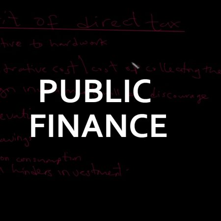 Advanced Level Public Finance