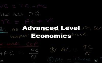 Advanced Level Economics