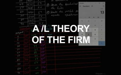 Advanced Level Theory of the Firm
