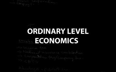 Ordinary Level Economics