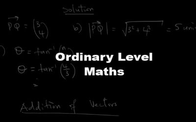 Ordinary Level Mathematics